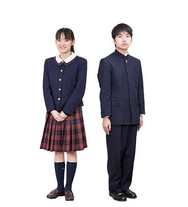 貞静学園中学校 冬服