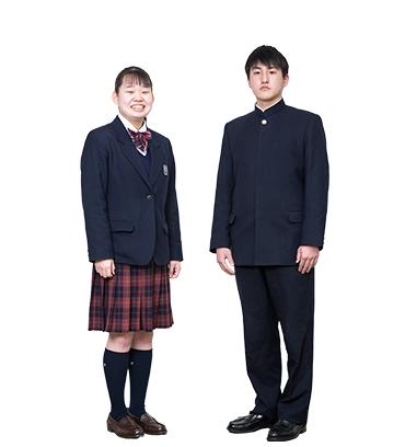 貞静学園高等学校 冬服