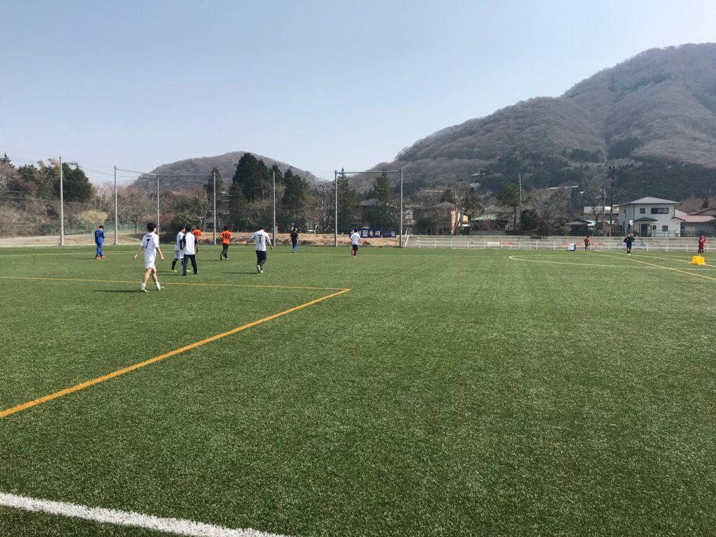 サッカー部 春合宿に行ってきました!