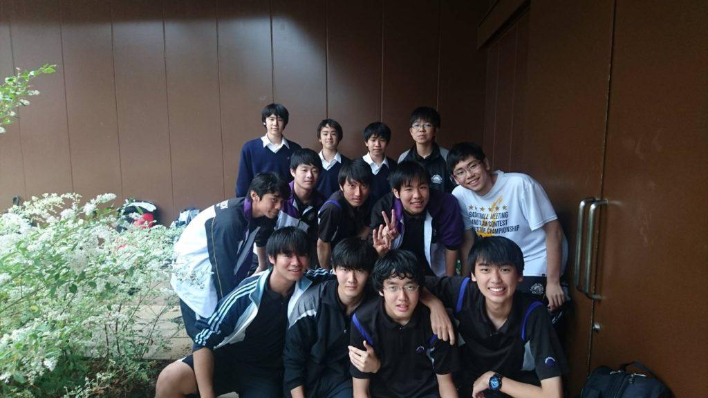 【硬式テニス部】高校3年生 引退試合