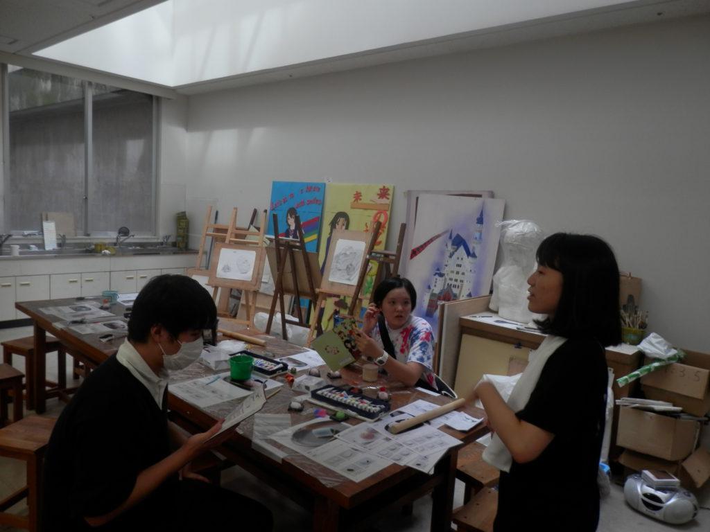 【美術部】この夏の集大成・・・ひなづる祭