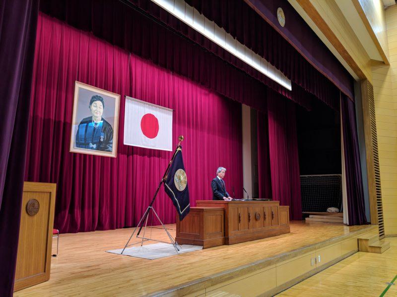 【学校生活】3学期始業式