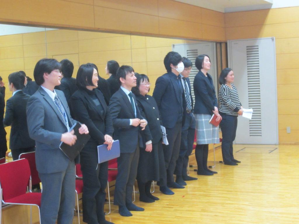 【高校2年生】受験報告会が行われました。