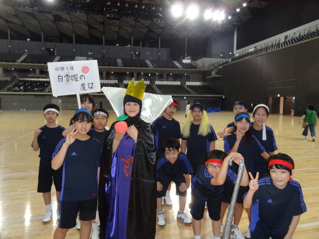【中学ブログ】体育祭がんばりました!