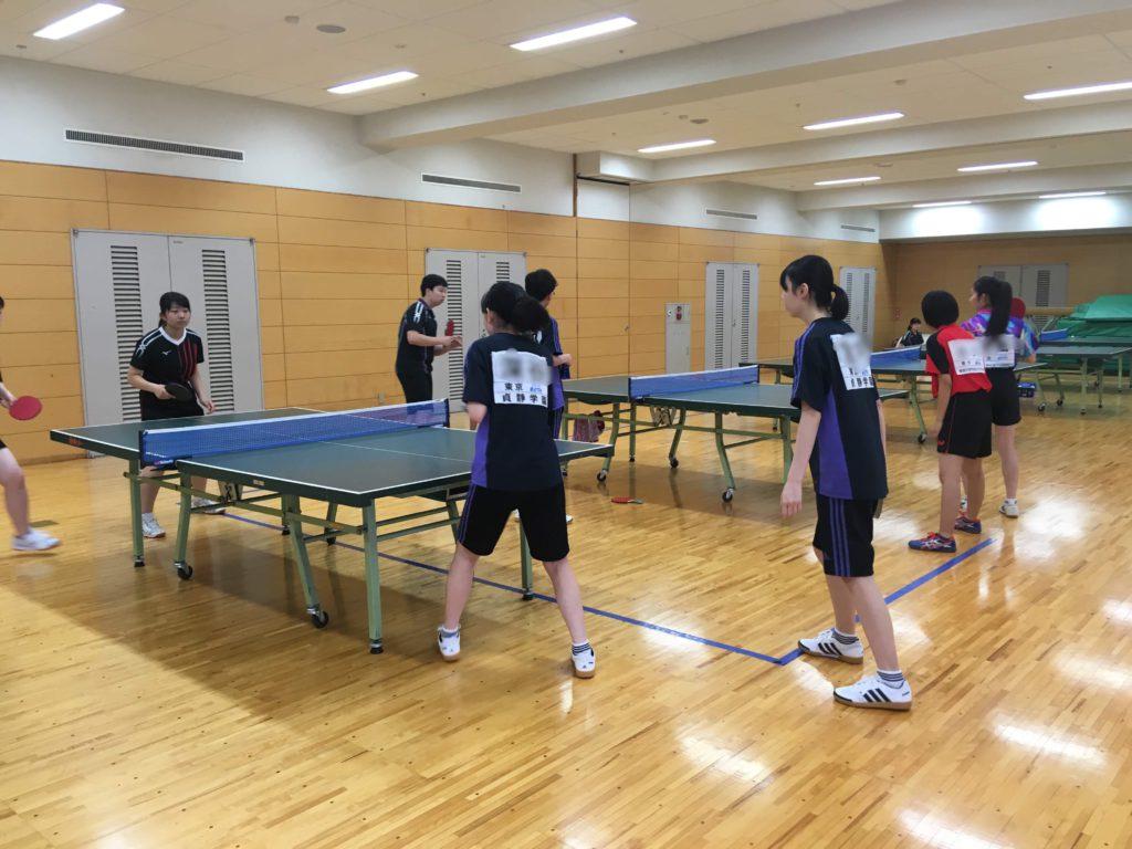 【卓球部】練習試合