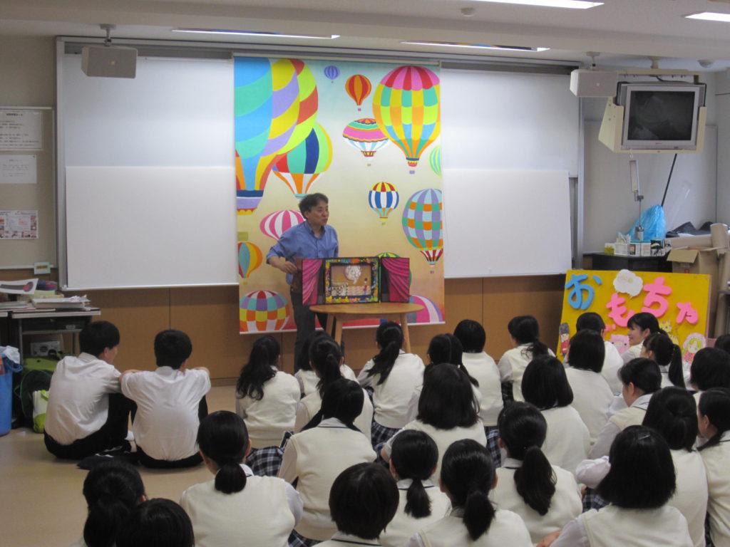 【幼教コースブログ】貞静学園短期大学での体験授業