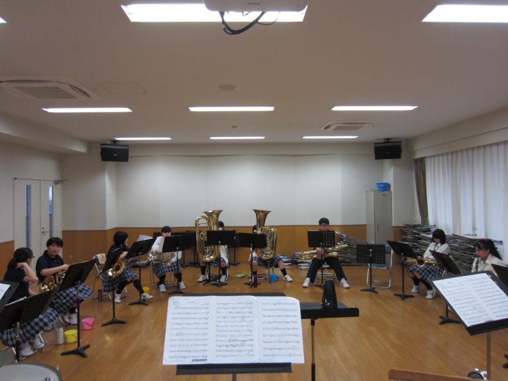 令和元年 東京都高等学校吹奏楽コンクールに向けて