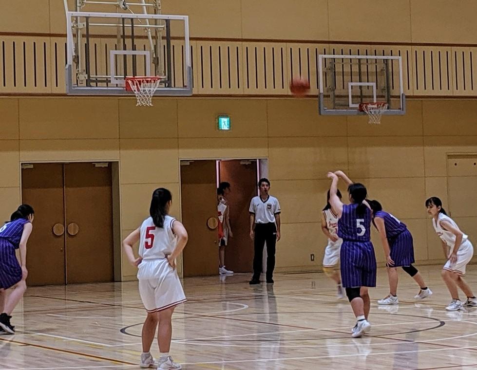 【女子バスケ部】夏季大会1回戦
