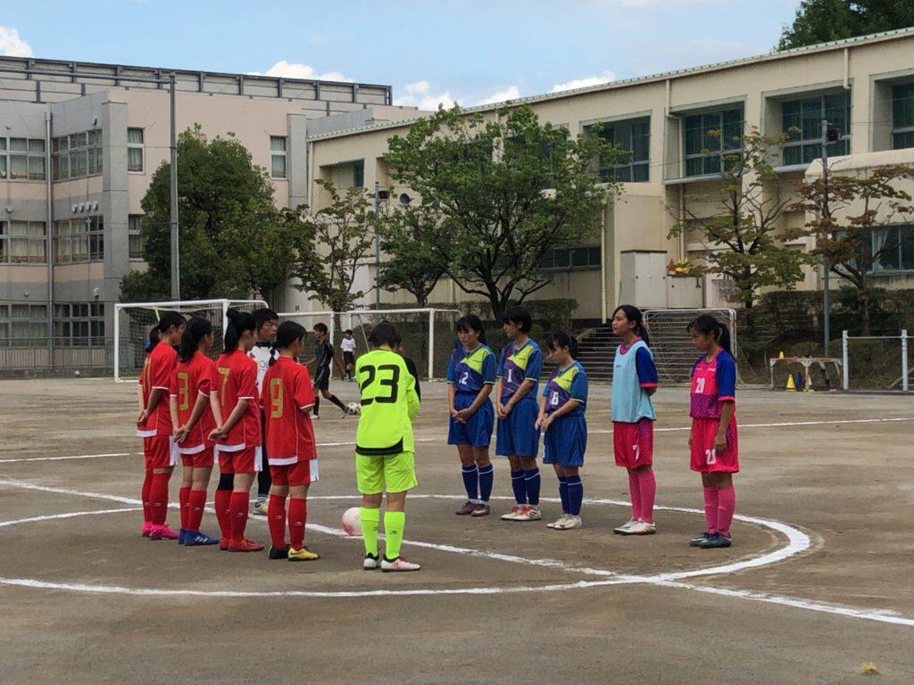 【女子フットサル部】チャレンジマッチ in 森村学園中等部・高等部