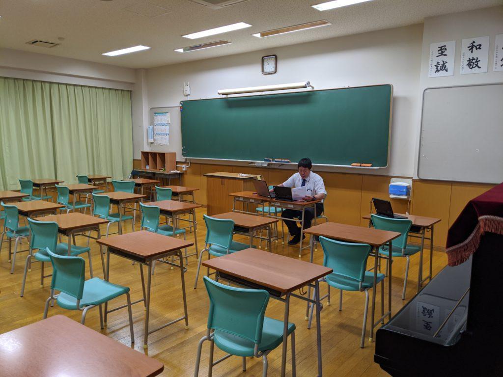 【中・高】「オンライン朝礼」始まりました!