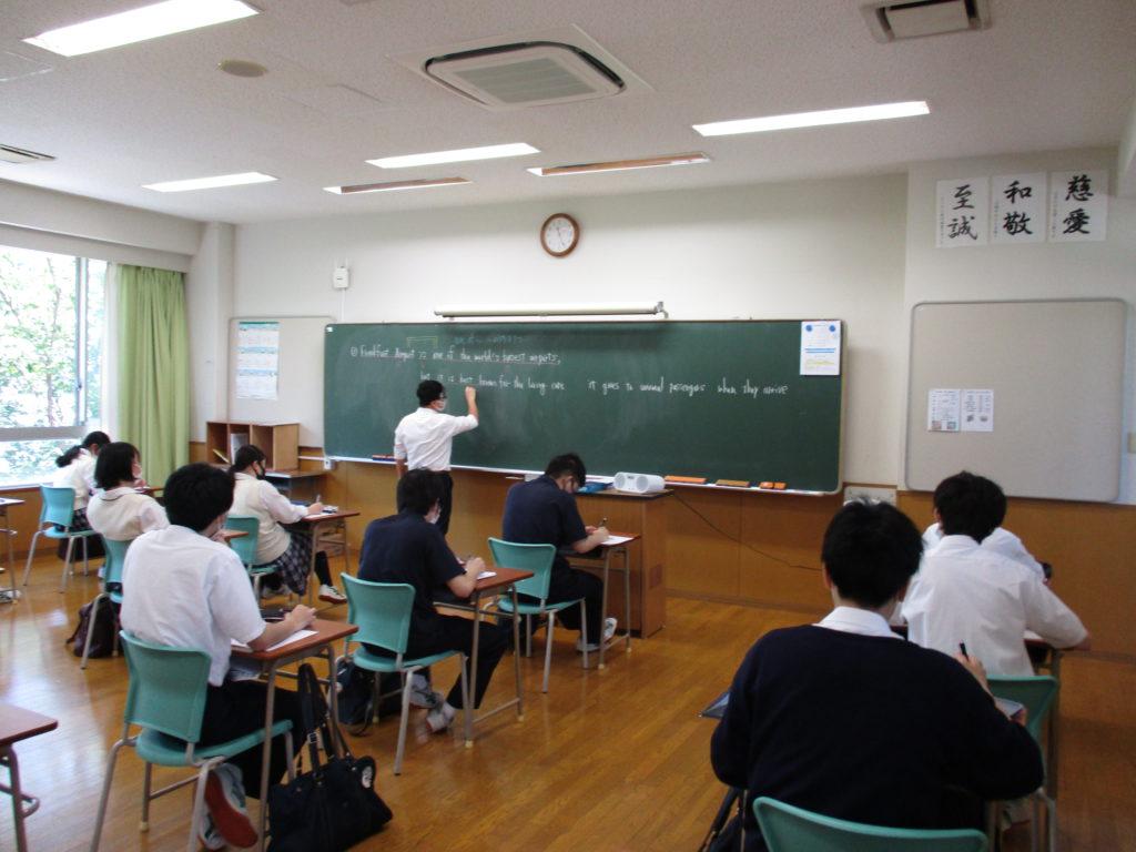 【高校】分散登校での授業が始まりました!