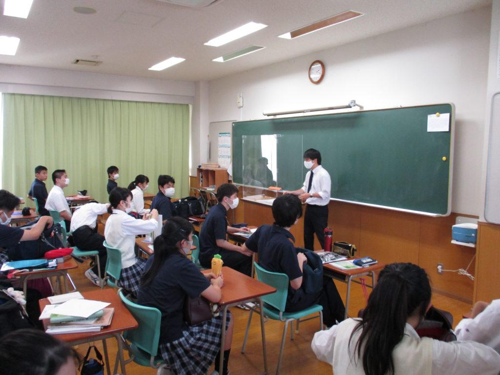 2学期の授業が始まりました。