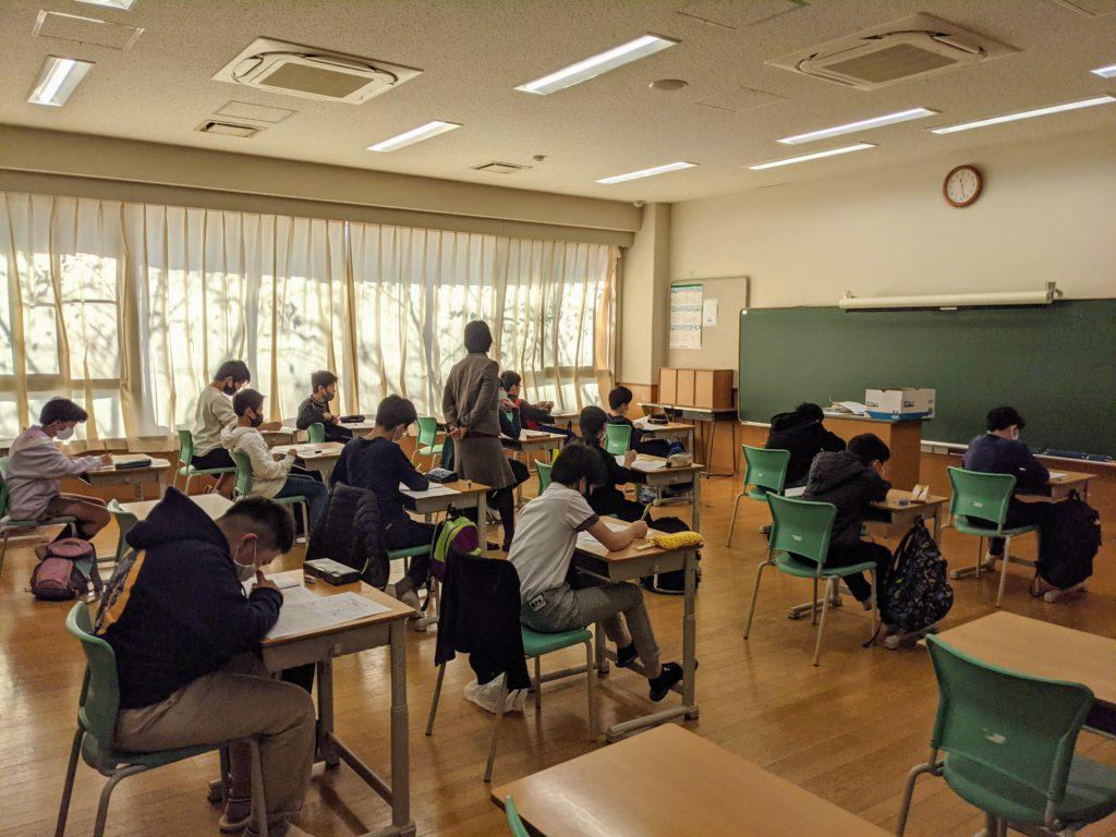 【中学入試】プレテストを実施しました!