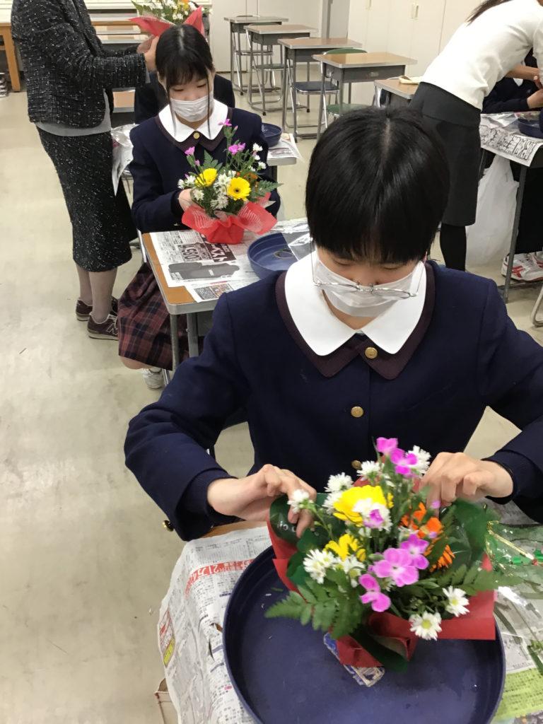 【中学校ブログ】「礼法」の授業