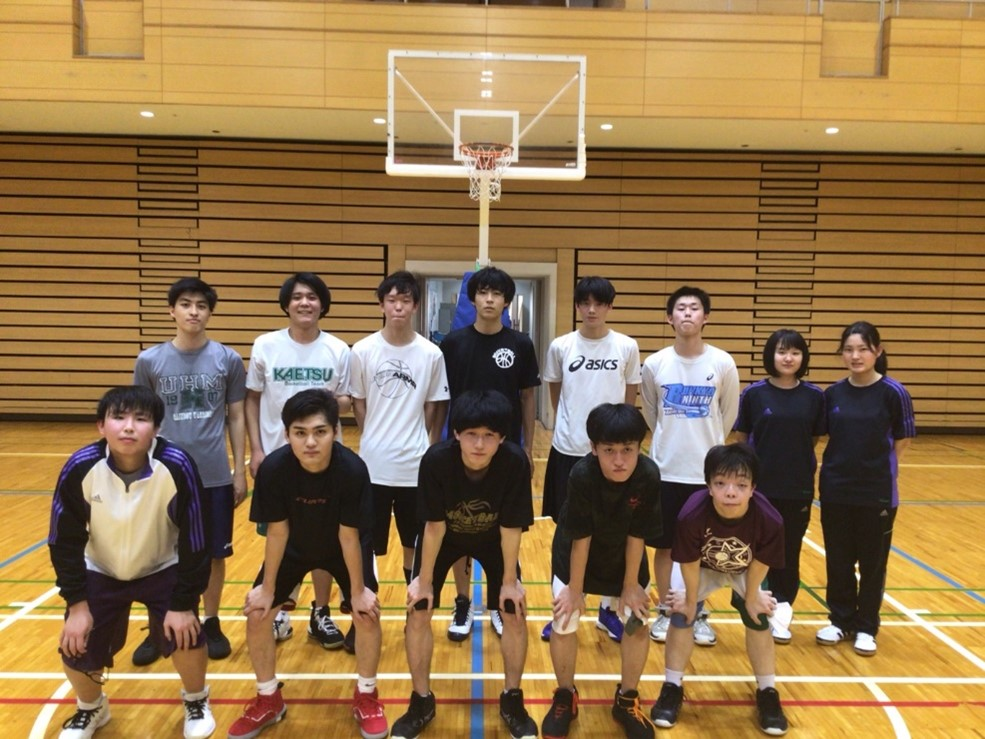 男子バスケットボール部の紹介です♪