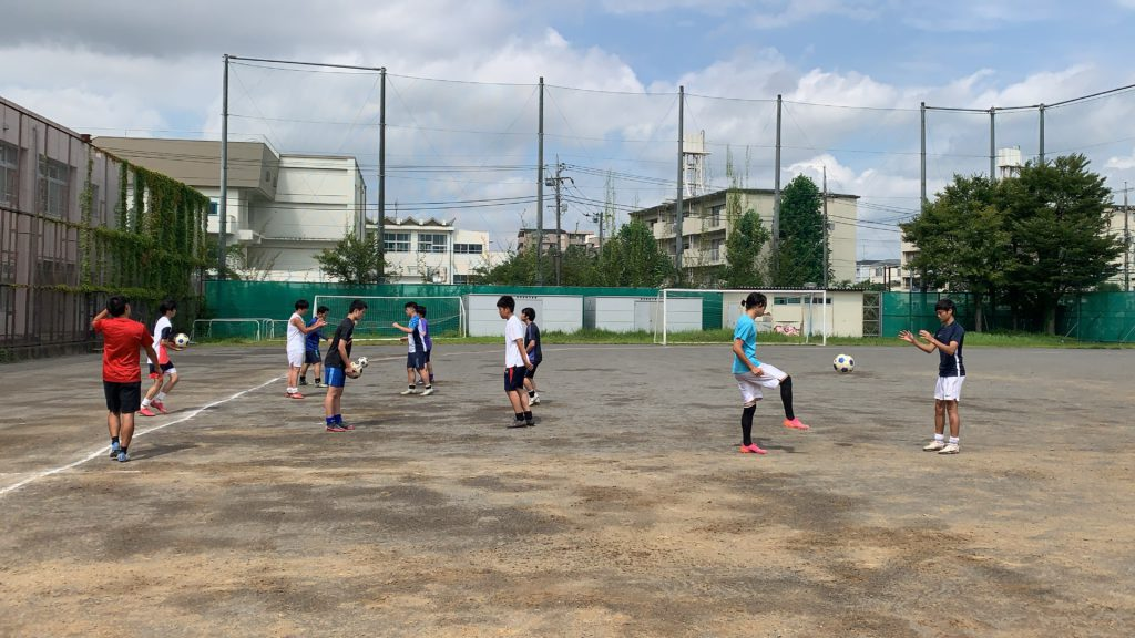 【サッカー部】合同練習のようす