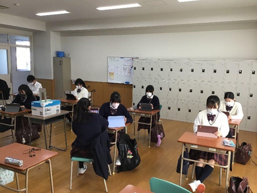 【特進コース生徒ブログ】今日から「中間試験」です!