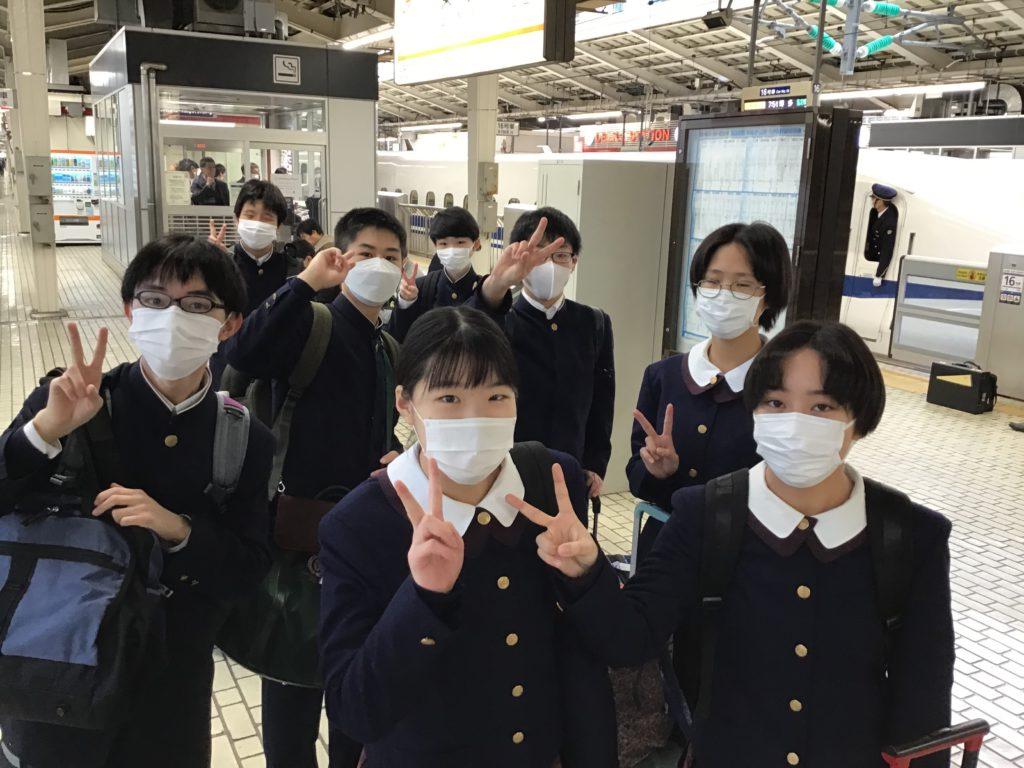 【中学校ブログ】中3修学旅行 出発!