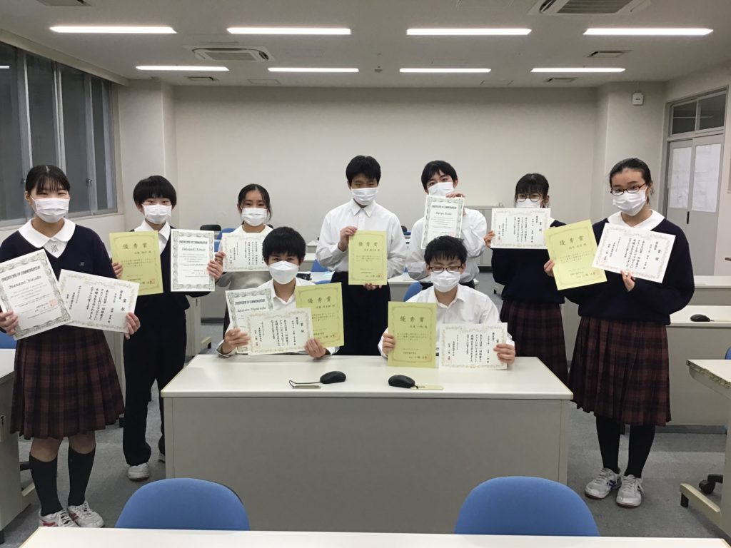 【中学校ブログ】体育祭練習とコンテスト表彰